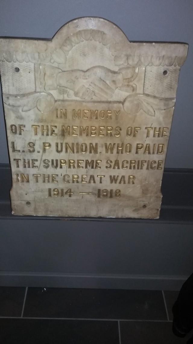 A3 LSPU WW1
